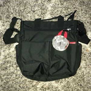 Skip Hop Diaper Bag & Pacifier holder